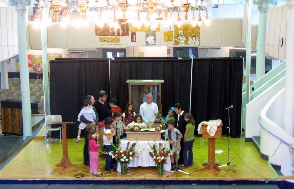 A children's service during our last year at Cecil Community Centre. Lorne Blumer, Photographer