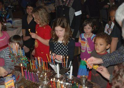 children candle lighting