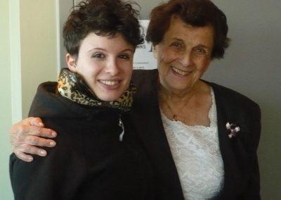 Honouring Holocaust Survivor Vera Schiff at HEW co-sponsored event, 2010